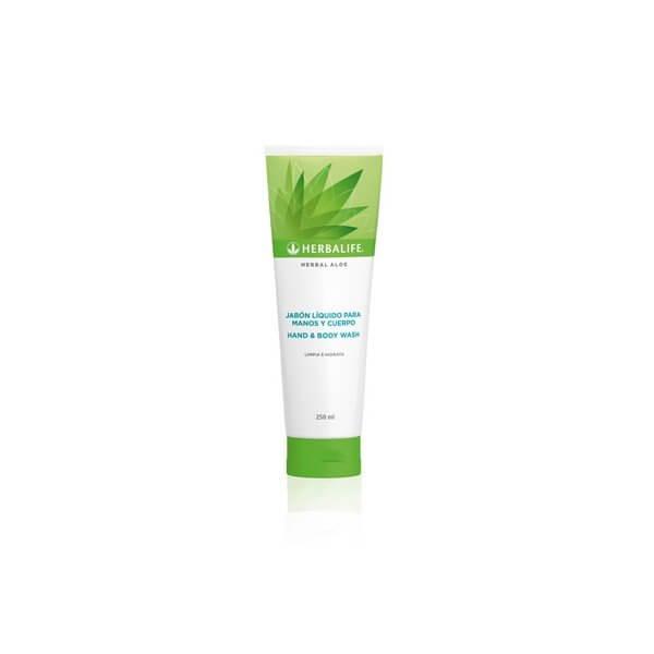 Herbal Aloe Jabón líquido para manos y cuerpo Herbalife